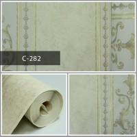 Wallpaper Sale Ready Klasik Garis Soft Krem 53CM X 10M