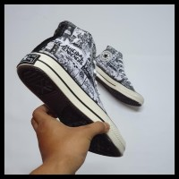 Sepatu Converse X Suicidal Tendencies High Import Quality 39-44