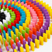 Mainan Balok Domino 120 PCS - Puzzle Susun Domino Edukasi Anak
