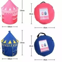 Tenda Bermain Anak Castle Kids Portable Tenda Kerucut