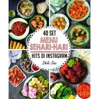 [Buku] 40 Set Menu Sehari-hari Hits di Instagram ala Dhila Sina