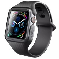 CLAYCO HERA Case with Band for Apple Watch 44mm Black