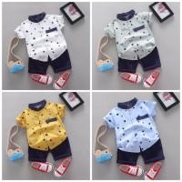 (1-4tahun) baju anak import - setelan kemeja anak import - baju bayi