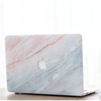 Macbook Pro 16 Inch Touchbar Non A2141 Marble Marmer Case Cover
