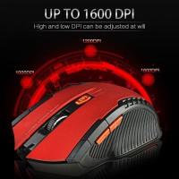 Fantech Gaming Mouse Wireless 2000 DPI - W4 - Black