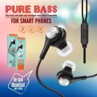 Handsfree Earphone Pure Bass MY-HF05
