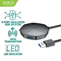 ROBOT USB HUB H150 4-Port USB3.0 High Speed Splitter - Garansi 1 Thn