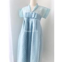 Hyun Dress - Dusty Green - Size M