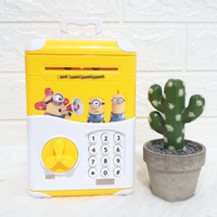 Celengan Anak Mini ATM Bank Karakter Minion Kitty Doraemon - MINION DORONG