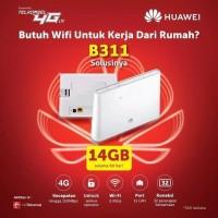 Wifi Router Modem Wifi 4G Huawei B311 UNLOCK All Operator Free Perdana