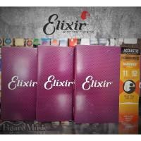 Senar Gitar Akustik Elixir .011-052 - Phosphor Bronze - Nanoweb 16027