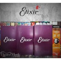 Senar Gitar Akustik Elixir .010-047 - Phosphor Bronze - Nanoweb 16002