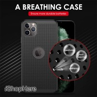 Breathable Cooling Heat Dissipation Case Casing iPhone 11 11 Pro Max