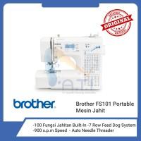 BROTHER Mesin Jahit FS101 FS 101 Digital Computerised Portable
