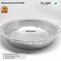 Alumunium Foil Tray Bulat B1350 Tanpa Tutup, Lasagna,Cake