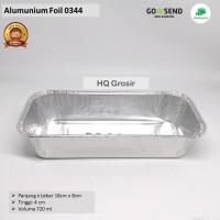 Alumunium Foil Cup BX-0344 (Tanpa Tutup), Lasagna, Macaroni Schotel