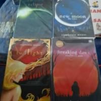 Paket Buku Novel Twilight Saga Eclipse New Moon Breaking Dawn Lengkap