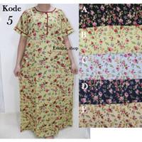 Long dress/Long Pen/ Homedress/ Daster panjang Katun Sabata Halus