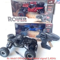 Rc Rock Crawler Climbing Car Rover Off-Road Body Metal Signal 2,4GHz