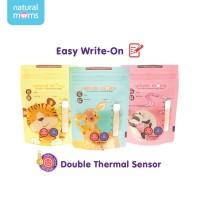 Kantong ASI 120ML Natural Moms-Thermal Sensor-Mix Motif