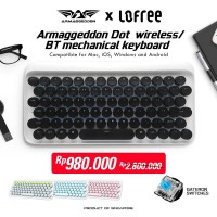 Armaggeddon Lofree Dot Wireless Bluetooth Mechanical Keyboard