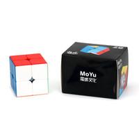 Rubik 2x2 Moyu MF Meilong M 2x2 Stickerless Original