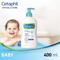 Cetaphil Baby Gentle Wash & Shampoo 400ml 400 ml
