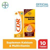 CDR Suplemen Kalsium 10 Tablet & Tonikum Multivitamin 330ml