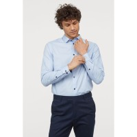 HnM Men Formal Shirt BIGSIZE - Kemeja H&M Casual Pria JUMBO SIZE (719)