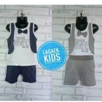 Setelan Kaos Anak Cowok import usia 1 2 3 Tahun bahan adem nyaman-SA27