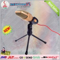 Microphone Mic 3.5mm PC Laptop SF666 Condenser Singing Smule