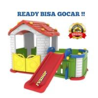 Play Ground Anak Mainan Anak Rumah Rumahan Plus Prosotan Anak Termurah