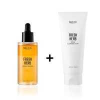 NACIFIC Fresh Herb Origin Serum 50ml + Cleansing Foam 150ml