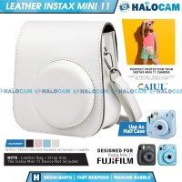 Leather Bag Tas Instax Mini 11 Fujifilm Kamera Polaroid Case