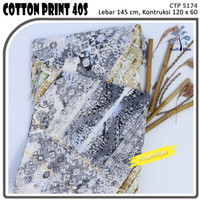 MUKA IG bahan kain cotton katun kemeja murah per 50 yard cat 23