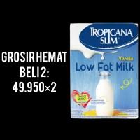 Susu Diet Tropicana Slim Low Fat Milk Vanilla 500 gram