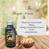 MINYAK KEMIRI BAKAR ASLI - Minyak Kemiri Original Penyubur Rambut