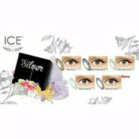 Softlens Ice Silver - Ice Gold by Exoticon (Bisa Minus)