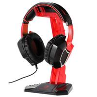 Gantungan Headset Sades Universal Gaming Headphone Hanger - Merah