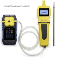 Gas Detector 4 in 1 DAN Sampling Pump BOSEAN BH4S O2 CO H2S LEL BH-4S