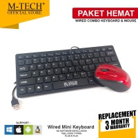 M-Tech Original Keyboard Combo Mouse Paket MT08