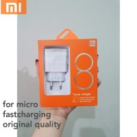 CHARGER XIAOMI 8 MICRO USB NEW FAST CHARGING WHITE