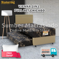 Springbed Musterring Vienna 2in1 120x200 FULL SET HB Chicago
