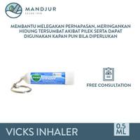 Vicks Inhaler - Melegakan Hidung Tersumbat