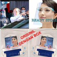Pelindung Wajah New FACE SHIELD KACAMATA Nagita Dengan BOX