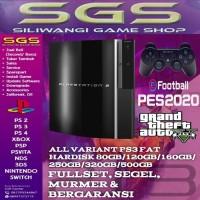 PS 3 Fat 160gb - Hitam