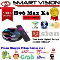 H96 Max X3 4GB/64GB Android 9.0 WiFi dual band Tv Box Amlogic S905X3