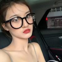 kacamata fashion wanita transparan retro sunglasses jgl146