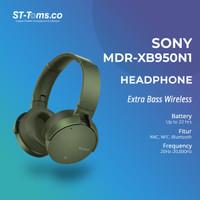 Sony Extra Bass Wireless Noice Cancelling Headphone MDR-XB950N1 Hijau