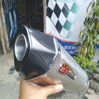 knalpot motor racing CLD C7 silincer only